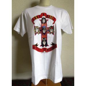 ロックTシャツ Guns N' Roses ガンズ アンド ローゼズ Appetite For Destruction UK Rock 英国 イギリス|ryoshindoshop