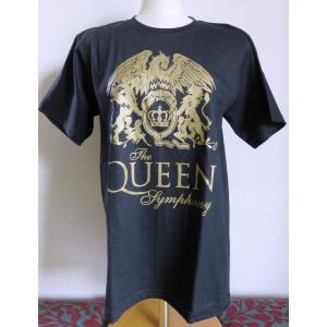 ロックTシャツ Queen クイーン The Queen Symphony 英国 イギリス UK Rock|ryoshindoshop