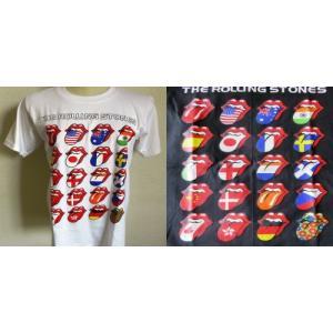 ロックTシャツ The Rolling Stones ザ ローリング ストーンズ ベロ 万国旗 英国 イギリス UK Rock|ryoshindoshop