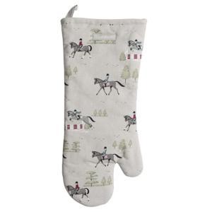 Sophie Allport 馬柄 キッチンミトン 鍋つかみ 英国 ソフィー・オールポート Horses Kitchen Gauntlet ALL28150|ryoshindoshop