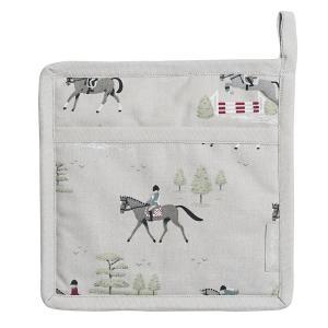 Sophie Allport 馬柄 鍋つかみ ポットホルダー 英国 ソフィー・オールポート Horses Pot Grab ALL28125|ryoshindoshop