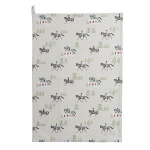 Sophie Allport 馬柄 ティータオル 英国 ソフィー・オールポート Horses Tea Towel ALL28601 キッチン ティー用品 コットン|ryoshindoshop