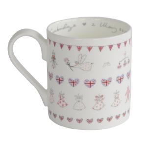 Sophie Allport 英国 ロイヤルベビー シャーロット王女誕生記念マグカップ ソフィー・オールポート BMRB02 Royal Baby Princess Charlotte Mug 箱入り|ryoshindoshop