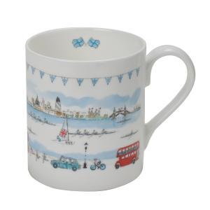 Sophie Allport ロンドン柄 マグカップ 英国 ソフィー・オールポート BMLO01 London Mug ギフトボックス入り|ryoshindoshop