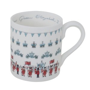 Sophie Allport エリザベス女王即位60年記念 コロネーションマグカップ 英国 ソフィー・オールポート BMQC01 Queen's Coronation Mug ギフトボックス入り|ryoshindoshop