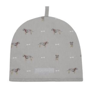 Sophie Allport 犬柄 テリア ティーコージー ポット用保温カバー 英国 ソフィー・オールポート Terrier Tea Cosy ALL15350|ryoshindoshop