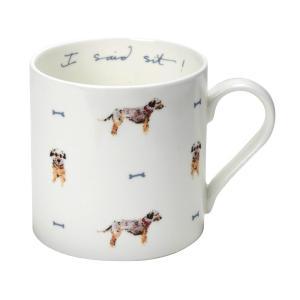 Sophie Allport 犬柄 テリア マグカップ 英国 ソフィー・オールポート MBTE02 Terrier I Said Sit! Mug 箱入り|ryoshindoshop