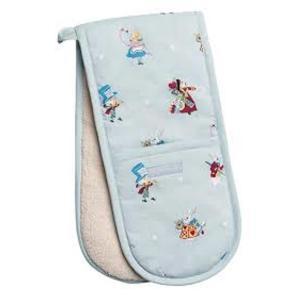 Sophie Allport 不思議の国のアリス ダブルオーブングローブ 鍋つかみ 英国 ソフィー・オールポート Alice in Wonderland Double Oven Glove ALLAW100|ryoshindoshop