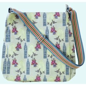 Ulster Weavers (アルスター・ウィーバーズ)メッセンジャーバッグ ロンドン 肩掛け 斜め掛け Messenger Bag London 英国ブランド イギリス 617LON|ryoshindoshop