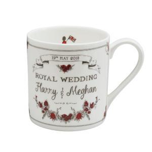 Victoria Eggs ロイヤルウェディング マグカップ ハリー王子 メーガン・マークル ご成婚記念 Royal Wedding ヴィクトリア・エッグス 英国製 英国王室|ryoshindoshop