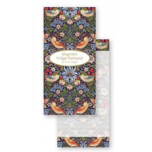 William Morris (ウィリアム・モリス)いちご泥棒 マグネット付きメモ帳 SMP305 V&A イギリス 輸入雑貨 ryoshindoshop