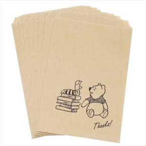 くまのプーさん フラットペーパーバッグ10枚セット サンクス Winnie the Pooh D22006 Thanks 紙袋|ryoshindoshop