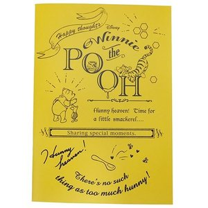 くまのプーさん A5ノート イエロー 罫線 風船 バルーン 72375 ディズニー Winnie the Pooh 日本製|ryoshindoshop