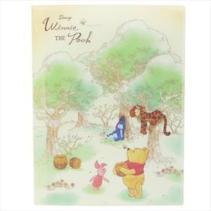くまのプーさん 10ポケットA4クリアファイル 48443 ディズニー Winnie the Pooh キャラクター文房具|ryoshindoshop