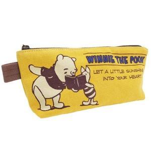 くまのプーさん スリムポーチ ペンケース 筆箱 筆入れ APDS2437 ディズニー キャラクター文房具 Winnie the Pooh ryoshindoshop