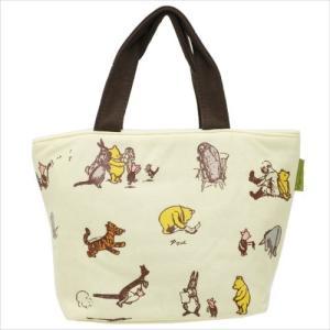 くまのプーさん スウェットランチバッグ クラシックプー カラー ミニトートバッグ KNB1 英国人気 イギリス Winnie the Pooh|ryoshindoshop