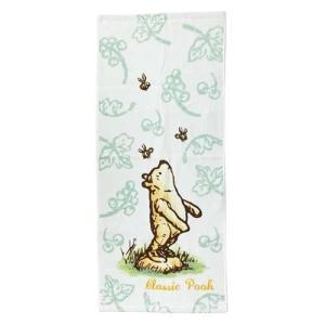 くまのプーさん 無撚糸ロングタオル ドリーミープー クラシックプー Classic Pooh フェイスタオル  Winnie the Pooh ディズニー|ryoshindoshop