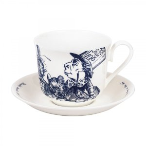 Whittard (ウィッタード)不思議の国のアリス お茶会 カップ&ソーサー Alice in Wonderland Cup & Saucer 314807 英国輸入雑貨 ティー用品|ryoshindoshop