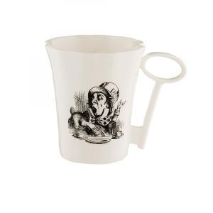 Whittard (ウィッタード)不思議の国のアリス 帽子屋 キーハンドル マグカップ Alice in Wonderland Mad Hatter Mug with Key Handle 英国輸入雑貨|ryoshindoshop