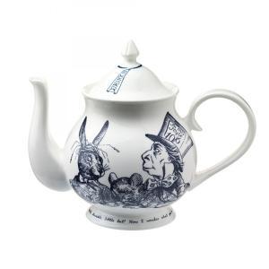 Whittard (ウィッタード)不思議の国のアリス お茶会 ティーポット 英国製陶磁器 Alice in Wonderland Tea Party Teapot 306571|ryoshindoshop