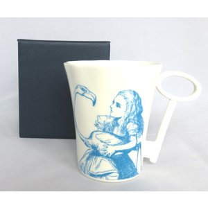Whittard (ウィッタード)不思議の国のアリス アリス (ブルー) キーハンドル マグカップ Alice in Wonderland Key Handle Mug Alice 英国輸入雑貨|ryoshindoshop