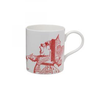 Whittard (ウィッタード)不思議の国のアリス ハートの女王 マグカップ Alice in Wonderland Queen of Hearts Mug 306811  英国ブランド 輸入雑貨 イギリス|ryoshindoshop