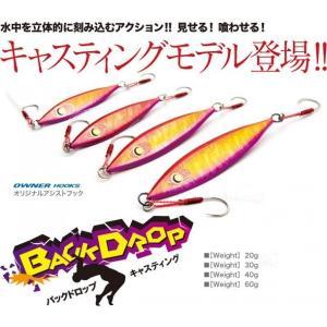 DAMIKI JAPAN闘魂ジグBACKドロップ60g各色|ryougu-store