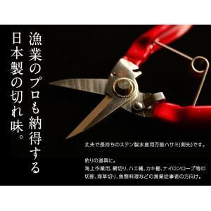 WKステン万能水産用ハサミ(剣先型)|ryougu-store