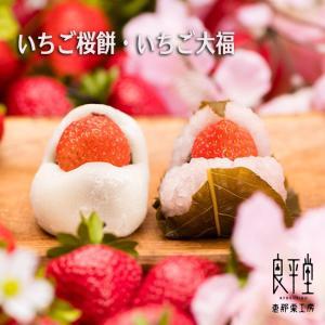 和菓子 プチギフト かわいい 内祝  いちご桜餅・いちご大福...