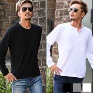 Tシャツ メンズ 半袖 長袖 無地 ロンt オラオラ系 アメカジ ビター系 ファッション|ryouhin-boueki