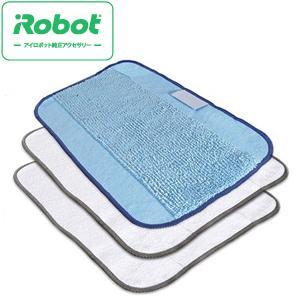 商品の詳細について  ブラーバ専用の交換用ドライクロス(白)2枚、ウェットクロス(青)1枚の合計3枚...