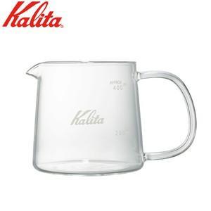カリタ kalita 耐熱ガラスサーバー Jug400 400ml コーヒー 珈琲 (電子レンジ対応) JAN: 4901369312765(配送日指定)|良品百科