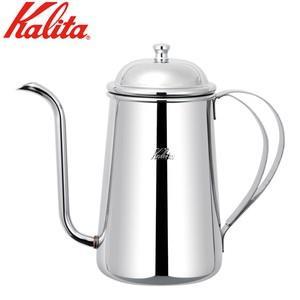 カリタのステンレス製コーヒーポット。注ぎ口が細い!  品番:52047 サイズ:底径110mm  材...