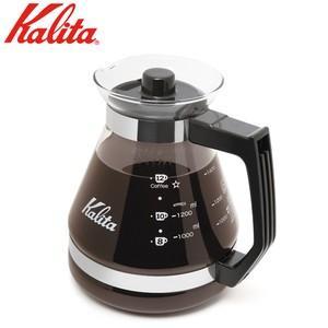 カリタの耐熱ガラス製、コーヒーサーバー!  品番:31133 容量:1,200ml  サイズ:高さ/...