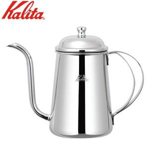 カリタのステンレス製コーヒーポット。注ぎ口が細い!  品番:52055 サイズ:底径85mm  材質...