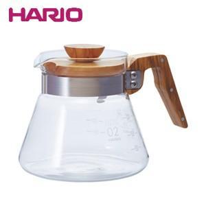 HARIO ハリオ コーヒーサーバー600オリーブウッド VCWN-60-OV JAN: 4977642019331(W)(配送日指定)|良品百科