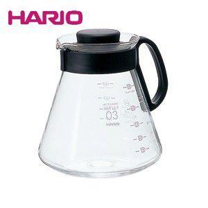 ハリオのV60レンジサーバー くし目付きのフタなので、中国茶や紅茶用のリーフティポットにもなります ...