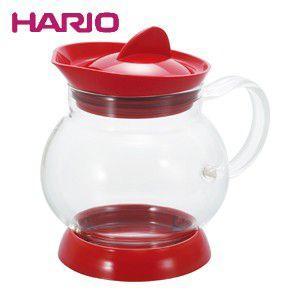 ハリオ HARIO ジャンピングティーサーバー レッド ハリオグラス JTS-35-R