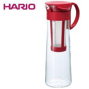 ハリオ HARIO 水出し珈琲ポット レッド ハリオグラス MCPN-14R|ryouhin-hyakka
