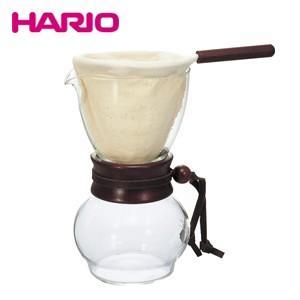 ハリオ HARIO ドリップポット・ウッドネック DPW-1 240ml 1〜2杯用 ネルドリップ