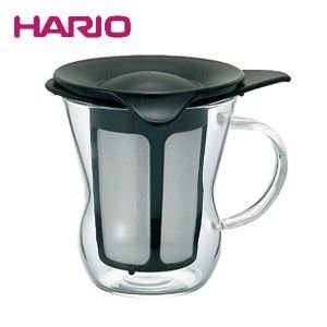 ハリオ HARIO ワンカップティーメーカー ブラック ハリオグラス OTM-1B
