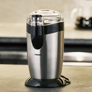 商品の詳細について  HARIOの新しいプロペラ式電動コーヒーミル  ご自宅で手軽に挽きたてのコーヒ...