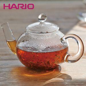 ハリオ HARIO ジャンピングティーポット・ドナウ 2杯用 ハリオグラス TDG-2