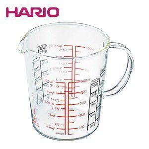 ハリオ HARIO メジャーカップワイド・500 ハリオグラス CMJW-500