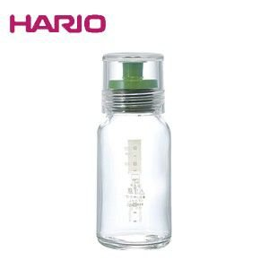 ハリオ HARIO ドレッシングボトル スリム120 グリーン ハリオグラス DBS-120G|ryouhin-hyakka
