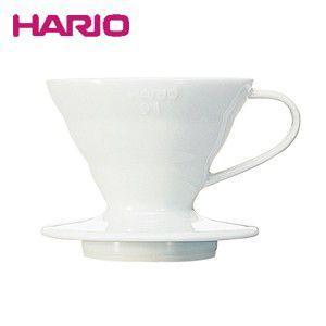 ハリオ HARIO V60透過ドリッパー01セラミック ホワイト コーヒードリッパー VDC-01W
