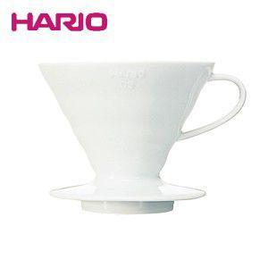 ハリオ HARIO V60透過ドリッパー02セラミック ホワイト コーヒードリッパー VDC-02W