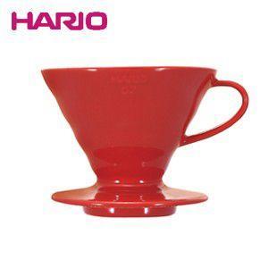ハリオのV60コーヒードリッパー(セラミック) 豆の旨味をしっかりと抽出  ■メーカー:HARIO(...