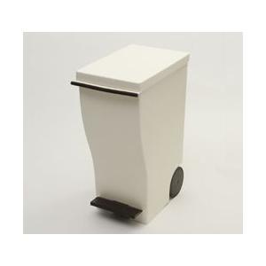ダストボックス ゴミ箱 クード 岩谷マテリアル スリムペダル20 ブラウン KUD20-BR(送料無料)|ryouhin-hyakka