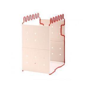 ダストボックス ゴミ箱 レマック 岩谷マテリアル 分別リサイクルホルダーS レッド LEMS-R (お取り寄せ商品)|ryouhin-hyakka